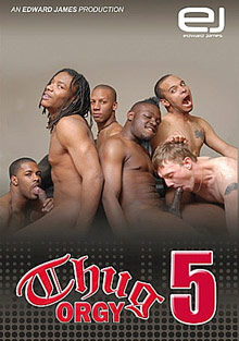 Gay Black Thugs : Thug group sex 5!