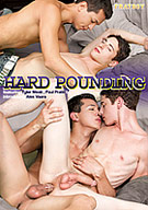 Hard Pounding is 5 scenes that test the limits of hard-core college fucking. Our resident power tops Paul Pratt and Noah Brooks welcome the tight assholes of Alex Vaara and freckled military guy, Tyler West for a Fratboy fuck fest that These freshmen will never forget.