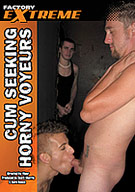 Cum Seeking Horny Voyeurs features cum hungry guys who like to watch as some hot action unfolds. If they're lucky enough, they get to join in and add a nice hot load to the party.