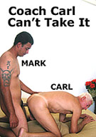 Marks horny, so he drops by Coach Carls to get his rocks off. After some oral action, he fucks Coach Carl so hard and for so long, that Carl cant take it anymore, and begs him to jack off into his mouth.