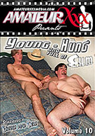 Young, Hung & Horny! And BOY are they ever!! Watch these young amateurs play all over the place! In the bathroom...on the sofa...and, of course, in bed!