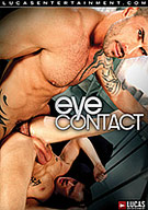 Take your love of porn one step further! In Eye Contact, we invite the voyeurs into the sex! The hot and horny men talk directly to you and seduce you into their fun. Exhibitionists Adam Killian and Trent Diesel bring you into their aggressive fuck scene! Mega-hung Jason Crew plows bubble-butt Brady Penn. Ridge Michaels hammers toned twink Jake Steel. Hairy muscle gods Alessio Romero and Dirk Caber flip-fuck. And ripped studs Parker London and Brenden Cage cover each other in cum! Make Eye Contact, join the fun, and blow your load!