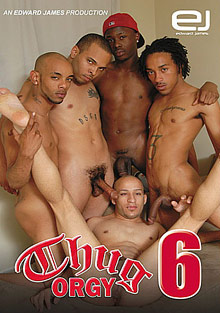 Gay Black Thugs : Thug group sex 6!