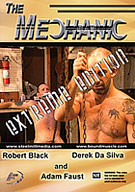 Porn legend Robert Black is tired of playing bdsm he wants the real thing. Real punishment. When he and hunky Adam Faust's car breaks down, Robert's fantasy turns into a nightmarish reality at the hands of The Mechanic.