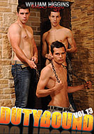 If you love sexy guys engaging in hot bondage action with each other, don't miss out on Duty Bound 13.