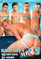 The fifth installment of BadPuppy's Men Collection with 10 of the hottest solo scenes you have seen in a while, featuring Ryan Raz, Luke Desmond, AJ, Chris Hacker, Brad Star, Colin, TJ, Chad, Brandon Steel and Douglas. With over two hours of rock hard cocks, you wont be disappointed!