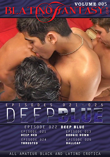Gay Black Thugs : Blatino Fantasy 5: Deep Blue!