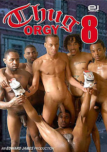 Gay Black Thugs : Thug group sex 8!