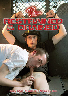 Gay Oral Sex : Restrained And Drained!