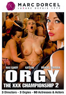 Orgy: The XXX Championship 2 cover
