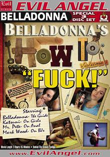 Belladonna's How To Fuck Part 2