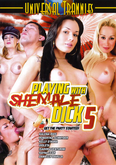 Playing With Shemale Dick 5 cover