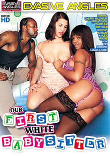 Our First White Babysitter cover