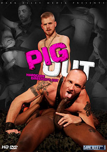 Gay Interracial Sex : Pig Out!