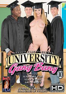 University Gang Bang 10 cover