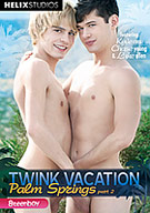 The desert is hotter than ever when these twinks arrive for the second installment of the Twink Vacation series. Spending their vacation half clothed and fully horny leads to outdoor duo's and threeways featuring our highest rated favorites and barely legal newbies. You've never had this much fun under the sun!