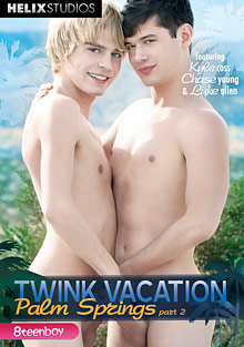 Twink Vacation Palm Springs 2 cover