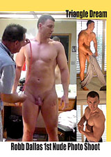 Robb Dallas 1st Nude Photo Shoot