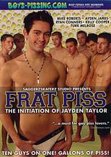 Frat Piss: The Initiation Of Jayden Taylor