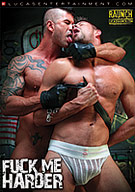 "The harder the better! Lucas Entertainment takes sex to the extreme in ""Fuck Me Harder""! Ten powerful and aggressive men pound and plow each other without restraint in rough and intense sex play. Monster hung Latino Antonio Biaggi fists and fucks Caedon Chase. Dirk Caber dominates blond bottom Logan Stevens. Rafael Alencar loosens up hungry bottom Jessie Colter with a screwdriver and hammer before suspending him by his ankles and fucking him deep. Kyle King, locked in a cage, begs and barks for Adam Killian's cock before getting slammed. Bottom hunk Marc Dylan submits his muscled ass to powerful fucker Mitch Vaughn."