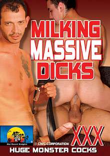 Milking Massive Dicks cover