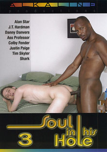 Gay Interracial Sex : Soul In His Hole 3!