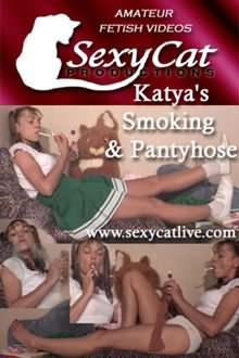 Katya's Smoking And Pantyhose