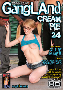 Interracial Porn : Gangland Cream Pie 24!