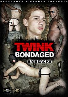 Gay Interracial Sex : twink Bondaged By Blacks!