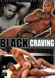 Gay Ebony Studs : Black Craving!