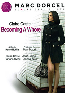 Claire Castel: Becoming A Whore cover