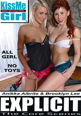KissMe Girl Explicit: The Core Scenes: Anikka Albrite And Brooklyn Lee