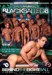Gay Orgy GroupSex : Black Balled 8!