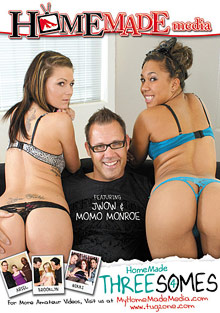 Homemade Couples : Home Made Threesomes 4!