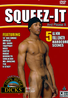 Gay Ebony Studs : Squeez-It: And Please It!