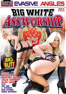 Interracial Porn : Big White butt Worship!