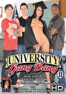 University Gang Bang 11 cover