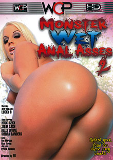 Monster Wet Anal Asses 2 cover