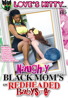 Naughty Black Moms On Redheaded Babysitter cover