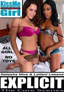 KissMe Girl Explicit: The Core Scenes: Natasha Nice And Leilani Leeane cover