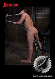 Butt Machine Boys: Rusty Stevens cover