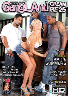 Interracial Porn : Gangland Cream Pie 25!