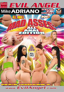 Mad Asses: All Anal Edition cover