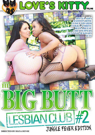 Big Butt Lesbian Club 2: Jungle Fever Edition cover