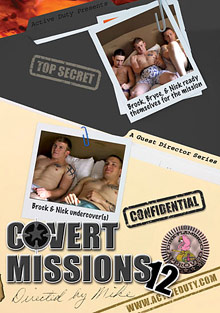 Gay Military Soldiers : Covert Missions 12!