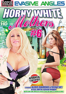 Horny White Mothers 6 cover
