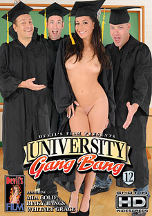 University Gang Bang 12 cover