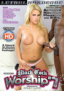 Interracial Porn : Black cock Worship 7!