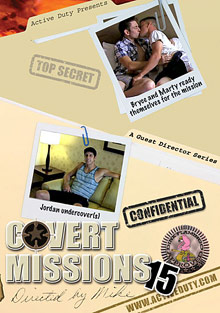 Gay Military Soldiers : Covert Missions 15!