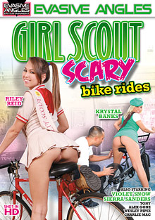 Girl Scout Scary Bike Rides cover